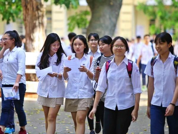 Học sinh sinh viên trường Trung cấp KTKT và du lịch Ninh Bình